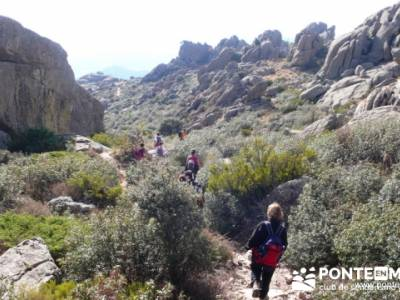 Senda de los Carboneros - La Pedriza - rutas senderismo madrid; viajes octubre